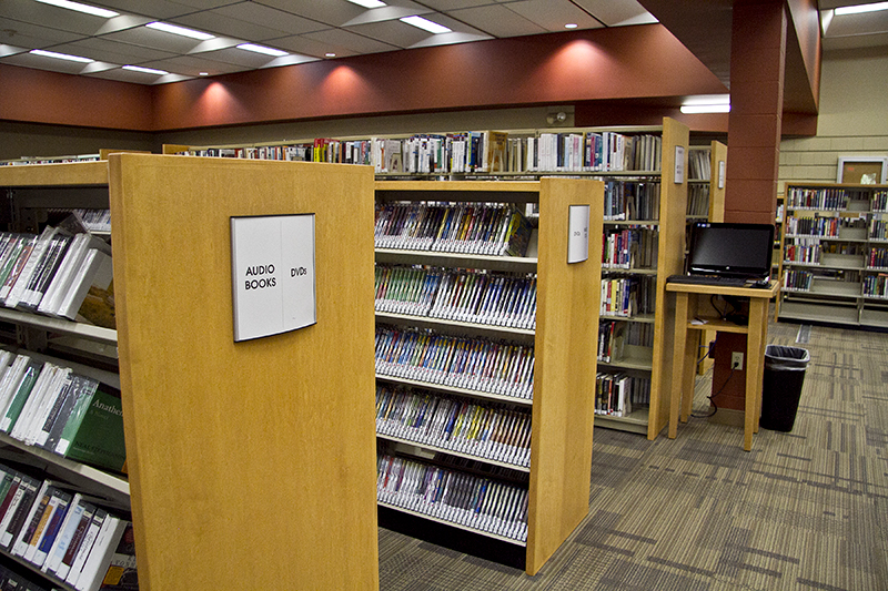Lakeview Branch Stacks-2