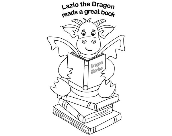 Lazlo the Reading Dragon