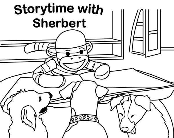 Storytime with Sherbert