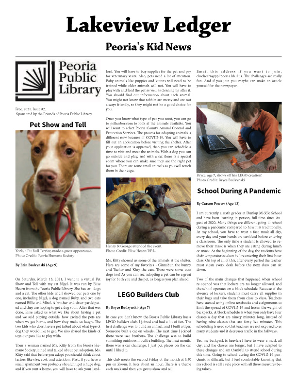 Lakeview Ledger Issue 2